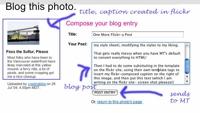 flickr-blog-compose