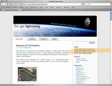 Googlesightseeing