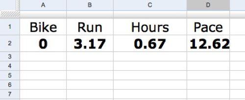 spreadsheet totals