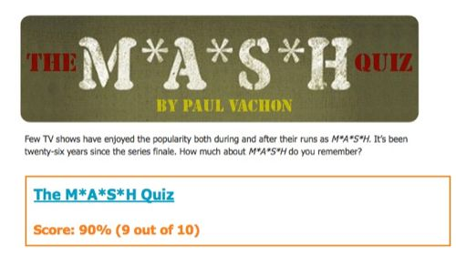 mash test