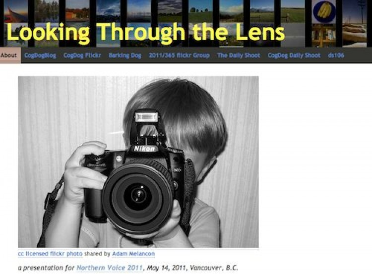 Thru the Lens at Northern Voice