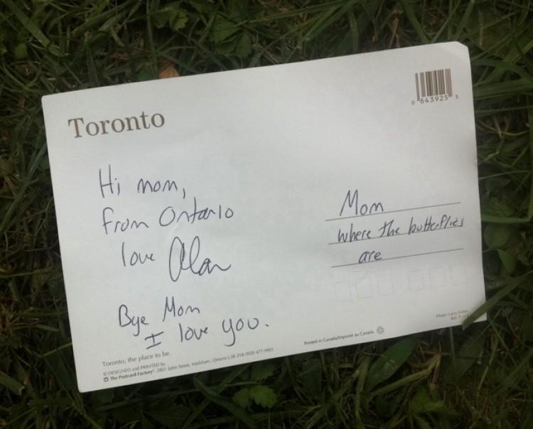 Mom's Last Postcard