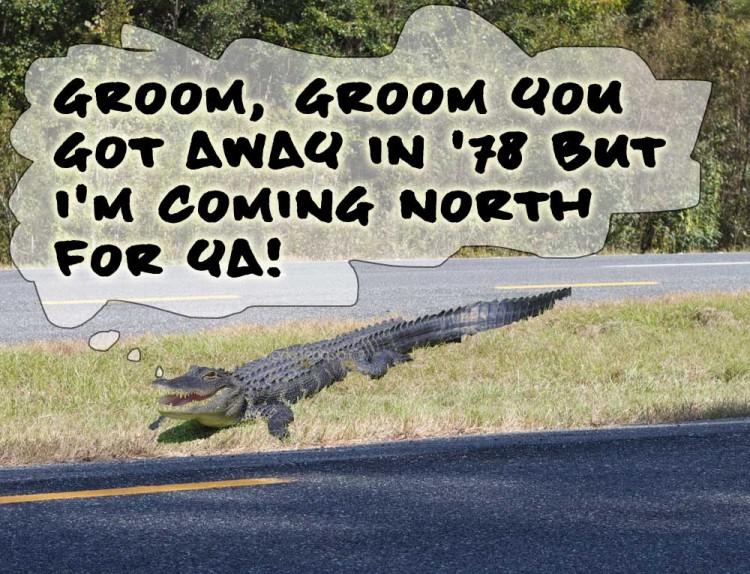 Lizard Revenge Headed North