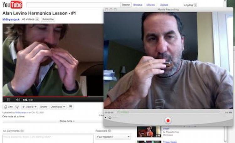 Blues Harp Lesson #2: Learning From Bryan Jackson