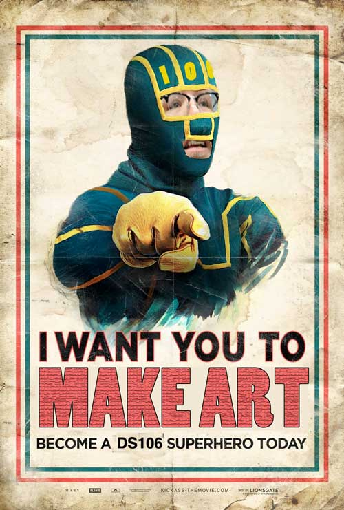 I WANT YOU TO MAKE ART (damnit)