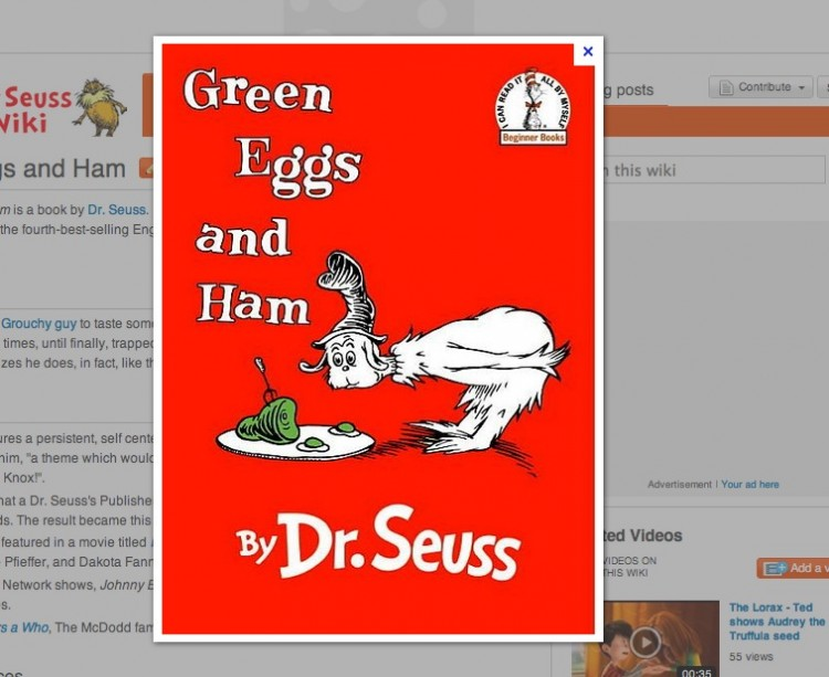 Green Eggs and GIMP