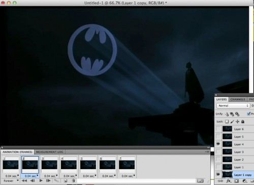 batman back layer