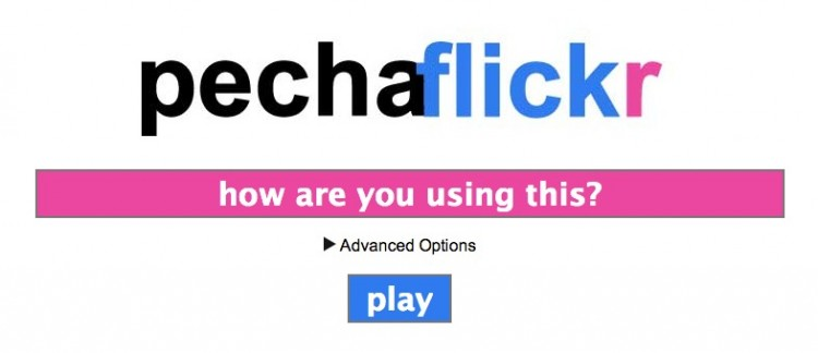 Have You Seen Anyone Use Pechaflickr?