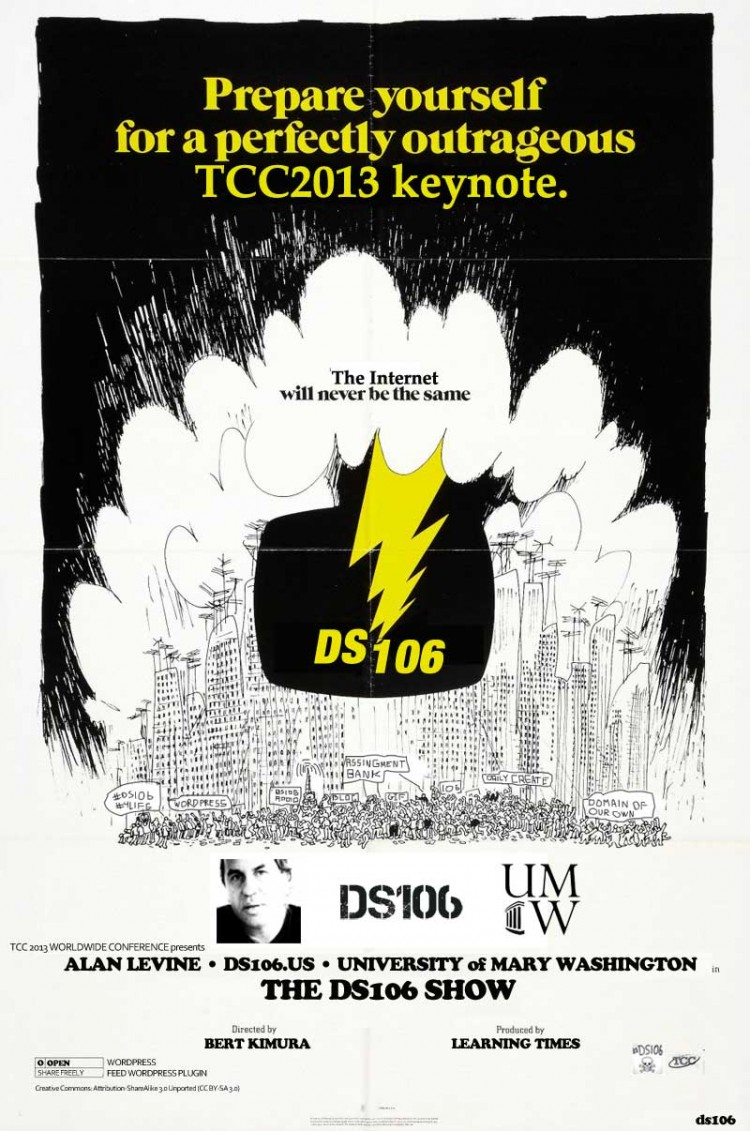 Coming Soon to TCC 2013: The ds106 Show