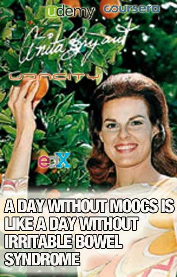 A Day Without Hearing About MOOCs is…