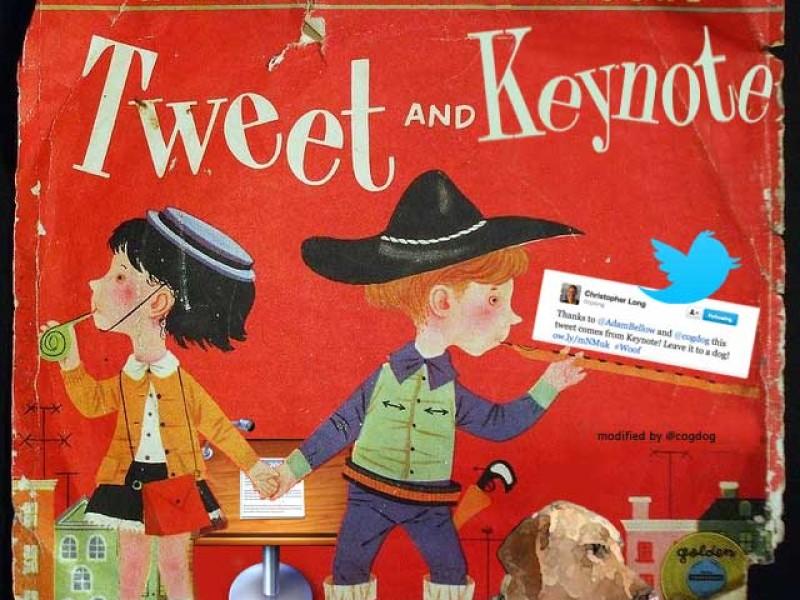 Geeking The Keynote Tweet App (again) (updated instructions)