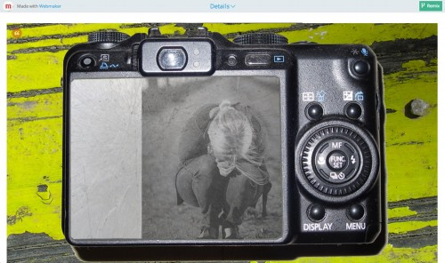 What story do images on a found camera tell?