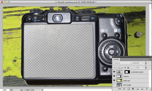 Photoshop file created for the camera as an image mask (click for full size)