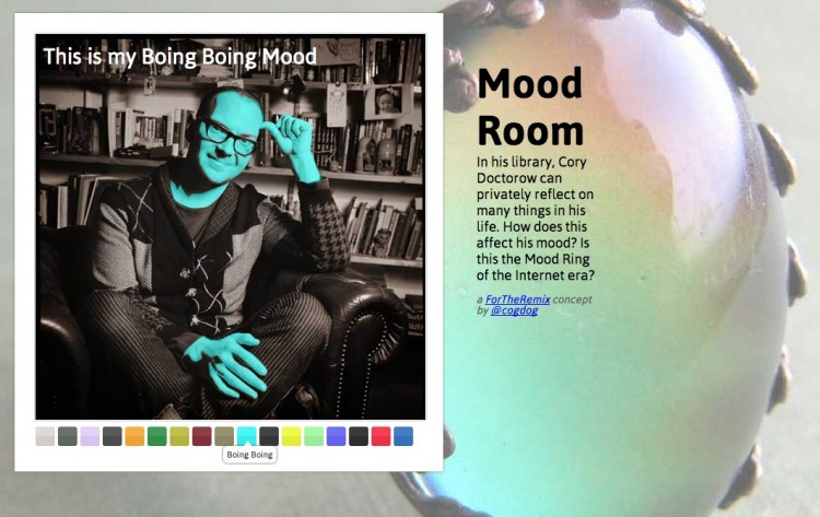 Cory's Colorful Moods