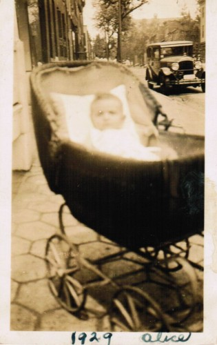 Mom at 7 months old.