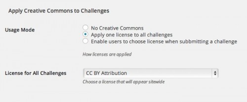 cc license ootions