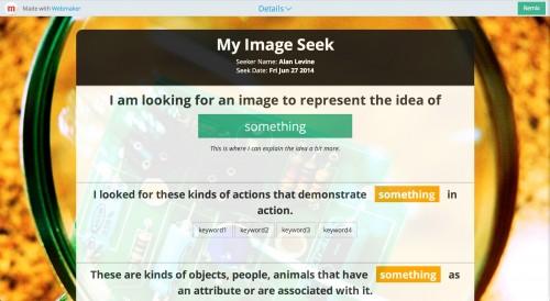 image seek