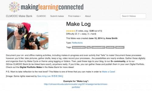make log