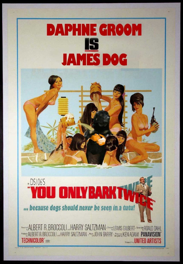 James Dog: You Only Bark Twice