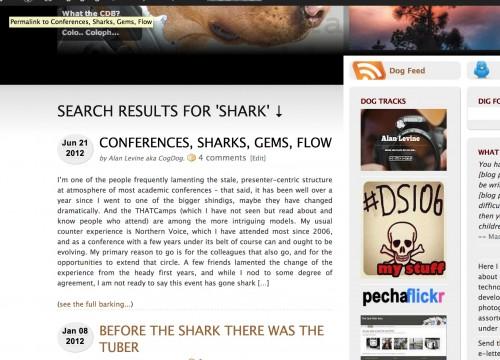 shark results