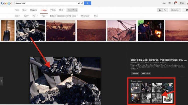 Google Licensed For Reuse Image Search: Not All is As it Seems