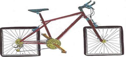 Image found on http://shazruns.wordpress.com/2012/06/19/day-18-square-wheels/ questionable of reuse rights, sue me