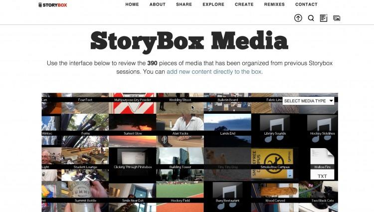 Peeking Inside the New Storybox