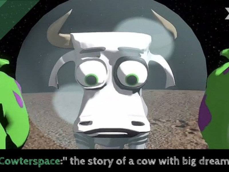 Cowterspace: More Than A Cute Cow in Space Video