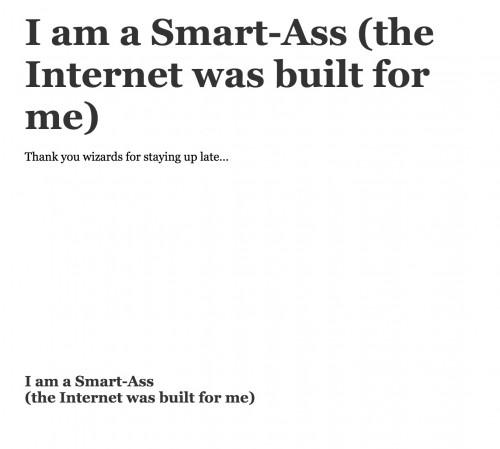 smart ass export