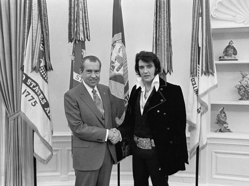 And There is Nixon and Elvis
