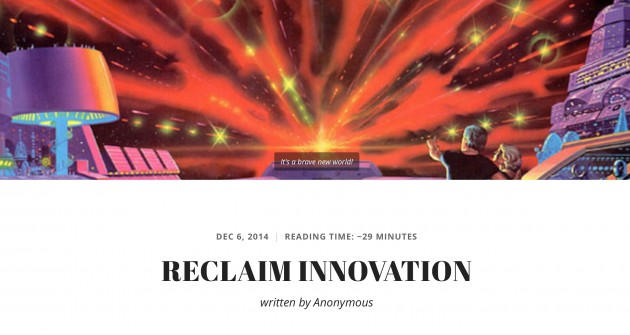 reclaim innovation