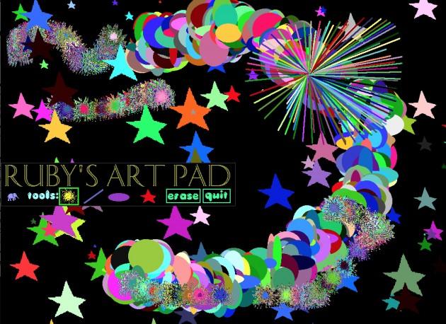 ruby's art pad