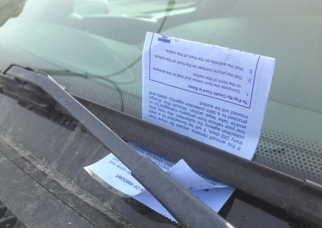 Another souvenir from the Parking Services of Canada