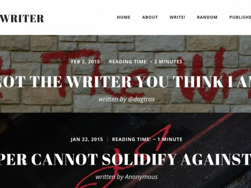 TRU Writer as Platform for Web Journals