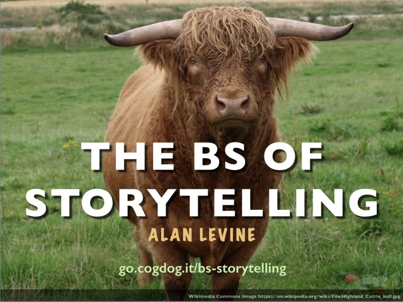 Bringing the BS of Storytelling to CALIcon15