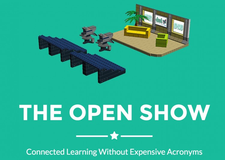 The Open Show (an un-paneled panel talk) at DML 2015