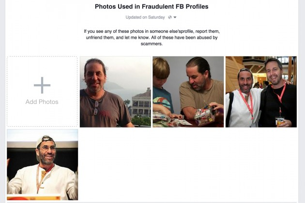 fb fraudulent photos