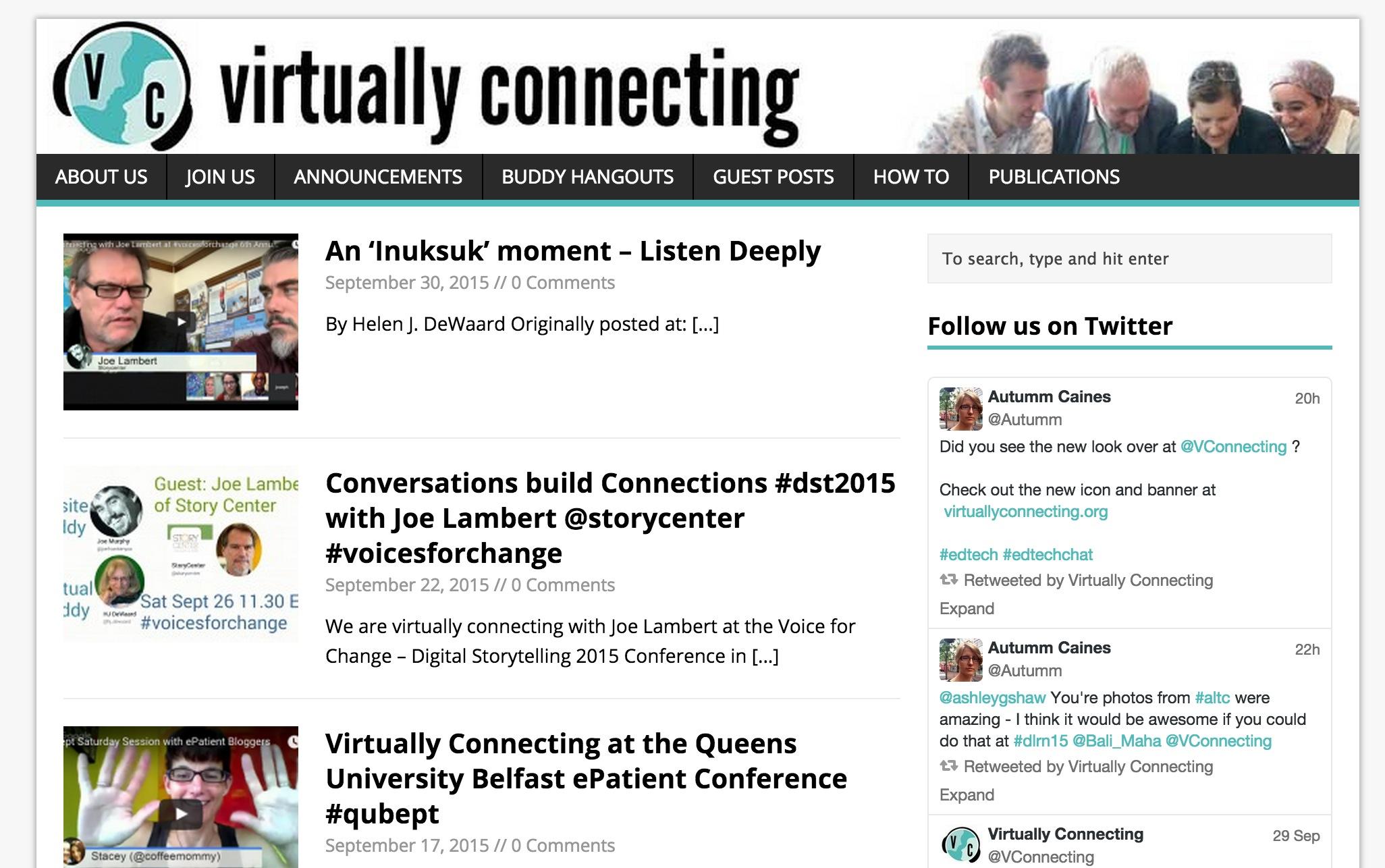 Http Cogdogblog Com 2015 10 Refining The Virtually Connecting Site