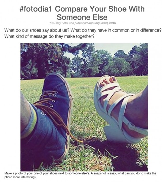 #fotodia1 Compare Your Shoe With Someone Else