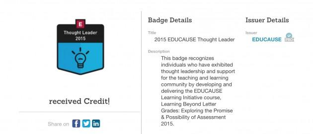 educause badge