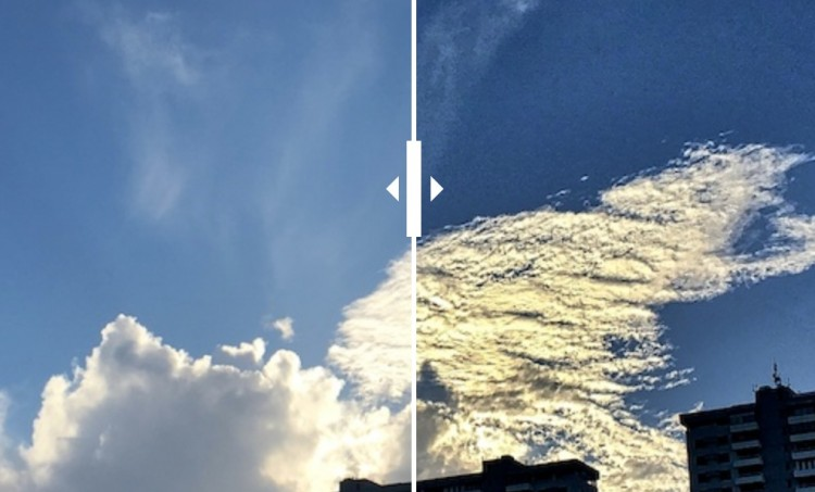 Juxtaposing The Cloud View