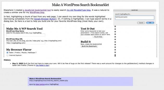 make-wp-tool