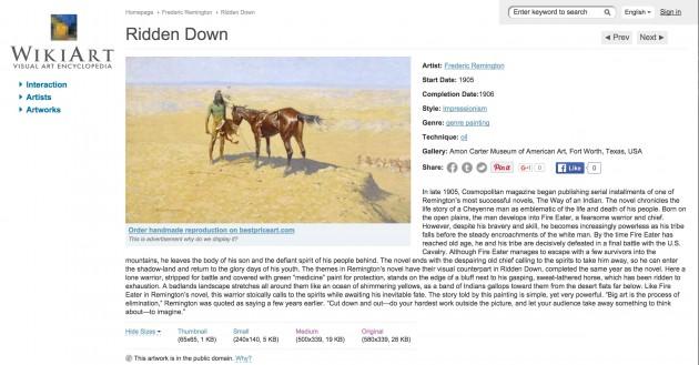 wiki-art-ridden-down