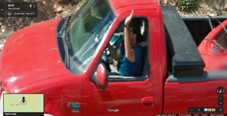 I'm Immortalized in Google Street View!