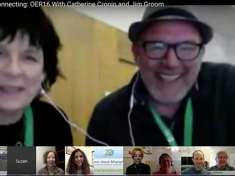 Literally [Ear] Buddies: Virtually Connecting at #OER16