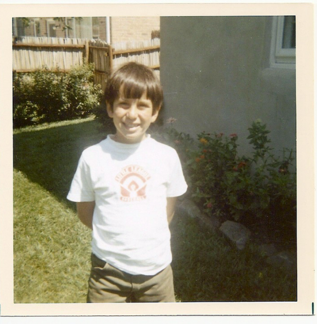 Young me, Baltimore, maybe 1968? 1970?