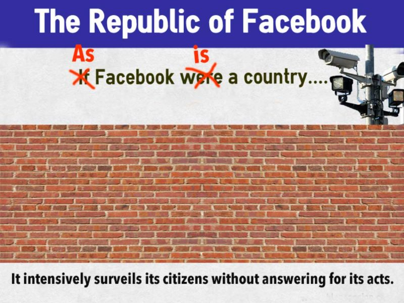 "What do you mean ""If"" Facebook were a country?"