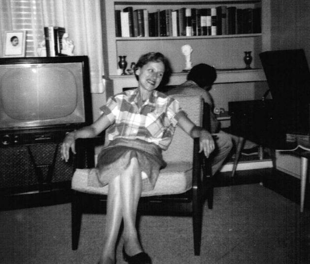 Grandma in 1955