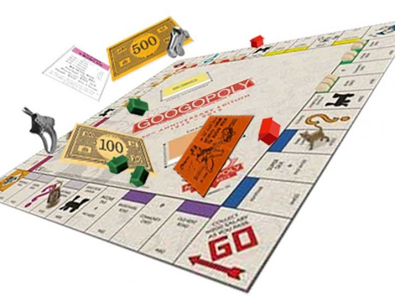 When it's Your Googopoly Game, You Can Flip the Board in the Air Anytime