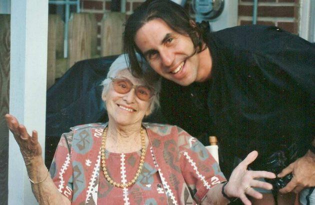 Grandma and me ~1994